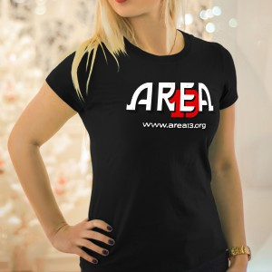 womens area 13 t shirt logo style